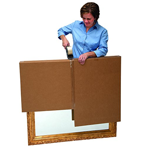 Bankers Box SmoothMove Moving Boxes for TVs, Pictures and Mirrors Adjustable, 40 x 60 x 4 Inches, 3 Pack (7711401) Photo #3