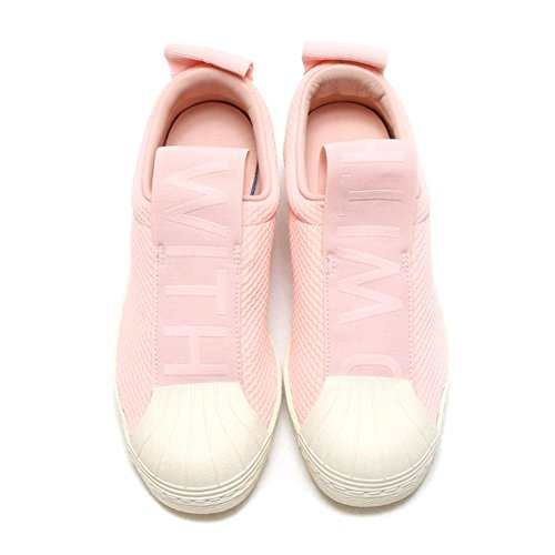 Adidas Originals Vrouwen Superster Slipon W Sneaker Icey Roze / Icey Roze / Legacy Wit