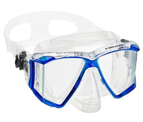 (HEAD Mares Adult Barracuda Purge Mask, Scuba Diving Snorkeling Dive Mask)
