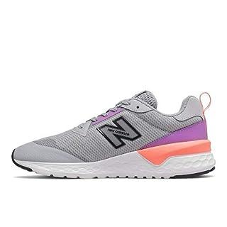 New Balance Women's Fresh Foam 515 Sport V2 Sneaker, Silver Mink/Neo Violet/Ginger Pink, 8.5 M US
