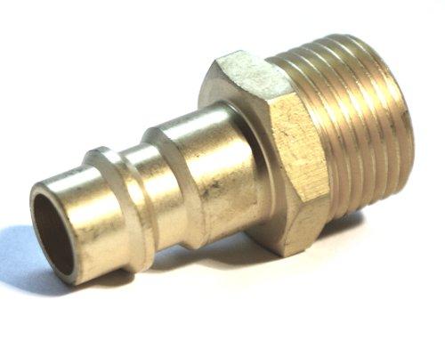"""10x Druckluft Stecknippel 3//8/"""" rechts Außengewinde NW 7,2mm"""