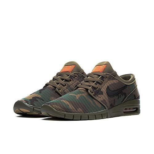 Nike Janoski Max, Iguana/Black Medium Olive, 10