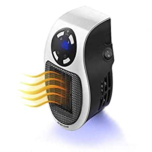 accreate smart space heater portable 500w handy mini heater for office home white us. Black Bedroom Furniture Sets. Home Design Ideas