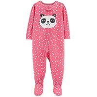 Macacão Carter's Malha fresquinha - Panda rosa