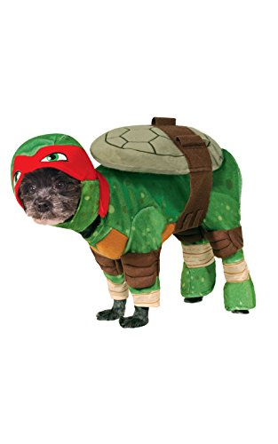Rubies Costume Company Teenage Mutant Ninja Turtles Rafael Pet Costume, Small (Cat Dog Halloween)
