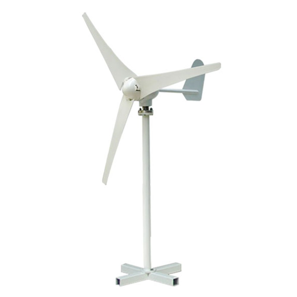 Vogvigo Wind Turbine Wind Generator 400W DC 24V Wind Turbine High Efficiency Wind Turbine Generator Kit 3 Blades Wind Energy