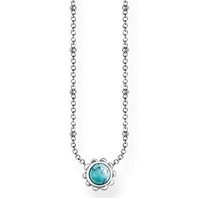 Thomas Sabo Women Silver Pendant Necklace - KK0003-001-21-L45v ekHYcz7jIq