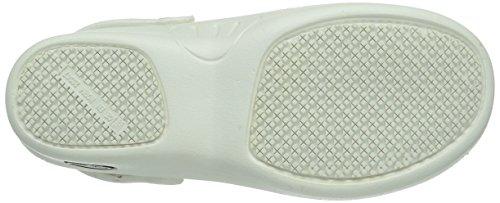 Pantoletten Weiß amp; Clogs WHT White Erwachsene BESTLIGHT Safety BESTLIGHT Jogger Unisex qcwxUgOT07