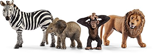 Schleich Animal Figurines (Schleich Wild Life Starter-Set Action Figure)
