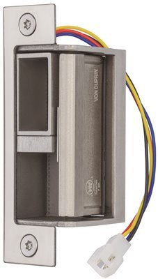 Von Duprin 6400 Electric Strike For Mortise Lock, Stainless Steel