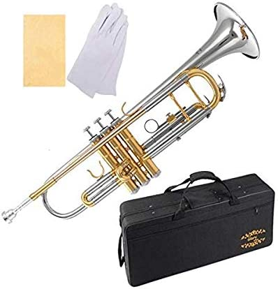 Glory Brass Intermediate Double-Braced Bb Trumpet