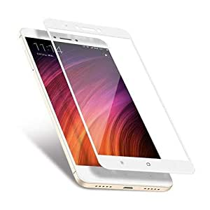 FULL TEMPERED 9H GLASS SCREEN PROTECTOR FOR XIAOMI NOTE 4/4X WHITE SAPU