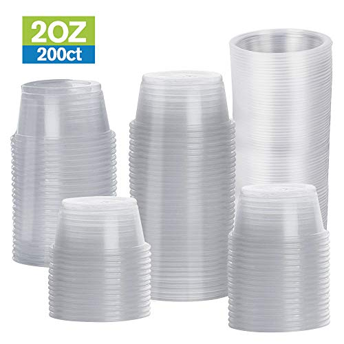 2 oz portion cups with lids - 9