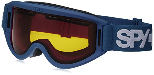 SPY Optic Getaway Snow Goggles | Mid-Sized Ski, Snowboard or Snowmobile Goggle | Clean Design and All Day Comfort | Scoop Vent Tech | Matte - Buy Oakley Lenses