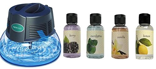 Rainmate Air Rainbow - New Rainbow Rainmate IL Air Freshener Purifier Room Aromatizer w/ 4 Fragrances