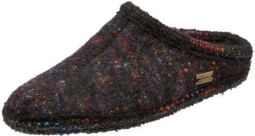 Black Multi Color Footwear - Haflinger Women's ASP03 Slipper,Multicolor/Black,41 EU (Women's 10 M US)