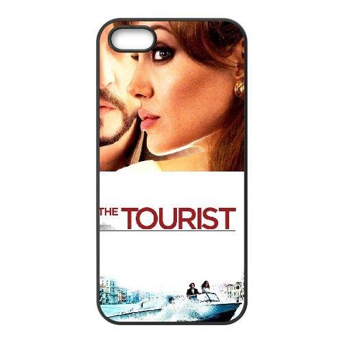 B0Q61 The Tourist Haute Résolution Affiche K1I6RY coque iPhone 4 4s cellule de cas de téléphone couvercle coque noire DK0QHB7TR