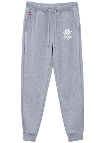meters-bonwe-womens-drawstring-waist-letter-printed-sweat-pants-grey-xl