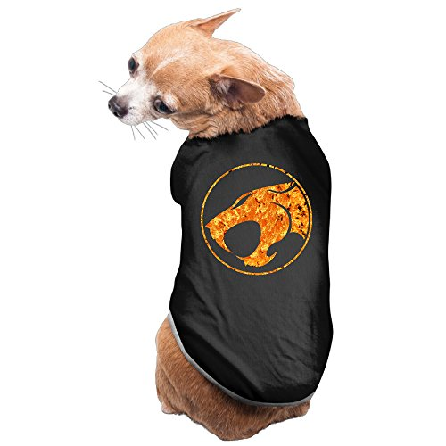Aip-Yep Awesome Thunder Cats Doggie Costumes Black Size -