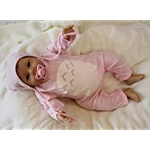 20-Inch, Adorable Silicone Fake Babies So Real Lifelike Reborn Girl Dolls Newborn for Women Nursery Training Toys