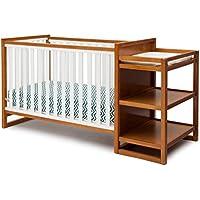 Delta Convertible Crib/Changer + Delta Toddler Mattress Bundle