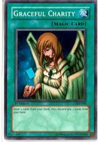 Yu-Gi-Oh! - Graceful Charity (SDP-040) - Starter Deck Pegasus - Unlimited Edition - Super Rare (Yugioh Best Draw Cards)