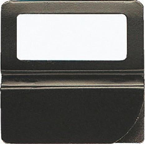 Exacompta 145101b finestra Cavalierini Confezione da pezzi nero 25 mm