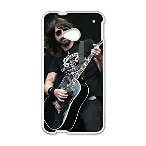 HTC One M7 Phone Case White foo fighters ZKH9378661