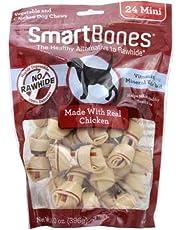 SmartBones Mini Chews with Real Chicken