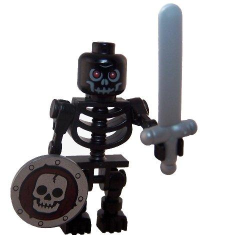 LEGO Loose Minifigure Dark Skeleton]()