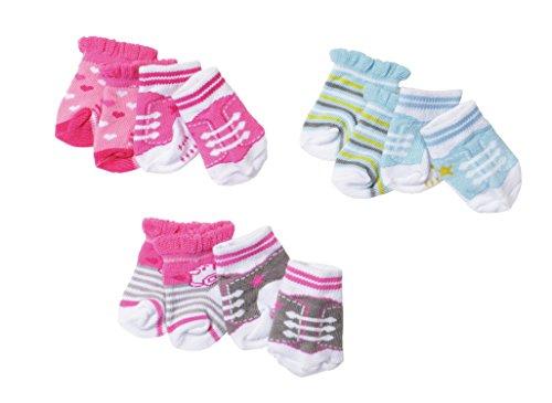 Zapf Baby Born Socks (2 Pairs picked at random)