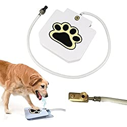 UPGRADE VERSION Outdoor Dog Water Fountain Pet Step-on Drinking Training Tool for Dogs, Durable and NO LEAKAGE