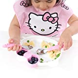 Bumkins Hello Kitty Silicone Grip Dish, Suction