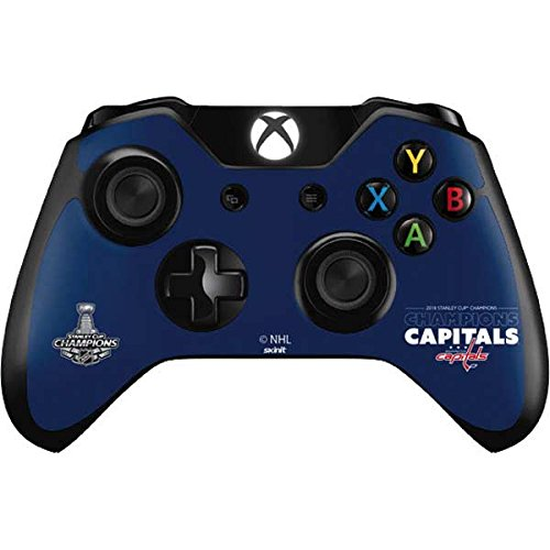 Skinit 2018 Stanley Cup Champions Capitals Xbox One Controller Skin - Officially Licensed NHL Gaming Decal - Ultra Thin, Lightweight Vinyl Decal Protection