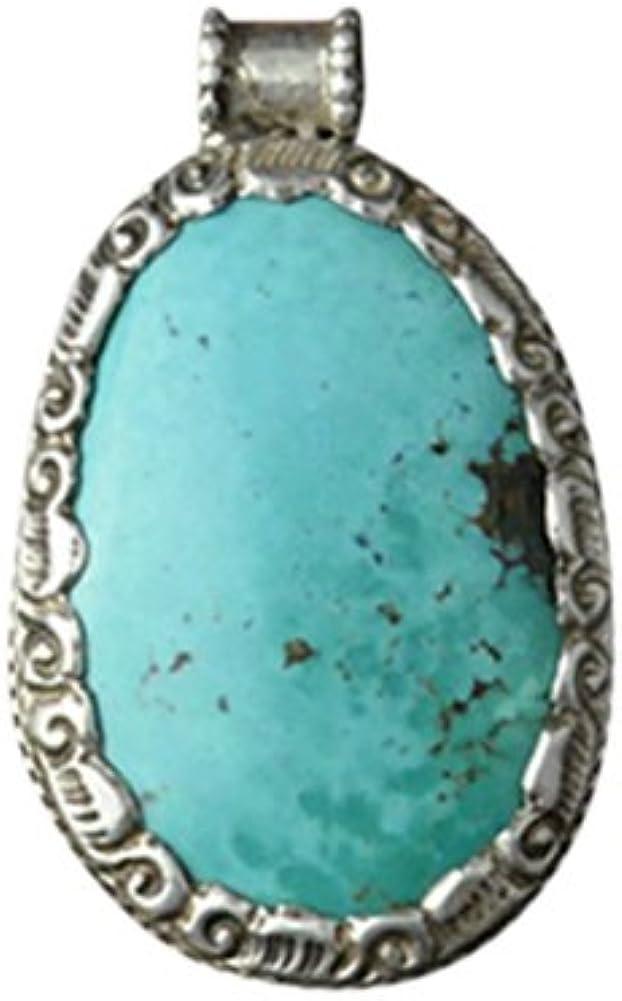 Colgante Tibetano de Plata 925 con Piedra Preciosa de Esmeralda - 100% Joya Artenal #107