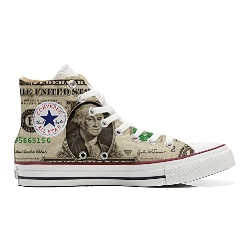 Zapatos Converse Unisex producto Usa Customized Dollaro Personalizadas Star All qHHxwZf6