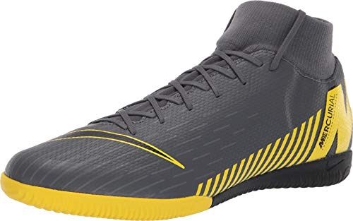 Nike Superfly 6 Academy IC Mens (7.5 D US) Grey/Yellow