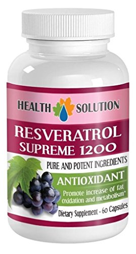 Organic Resveratrol Extract Resveratrol Supreme 1200 MagicPromotes Healthy Weight Management Efficiently Helps Fight Fatigue Helps Increase Fat Oxidation Natural Anti-Oxidant Blend 3 Bott