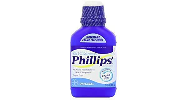El leche de Magnesia Origine 26 fl. oz Phillips: Amazon.es: Salud y cuidado personal