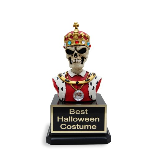 Skeleton King Trophy - Halloween Award, Costume Content Trophies, Skeleton Lover Gift and Funny Trophy by Far Out (Halloween Best Dressed Award)