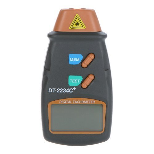 Digital Laser Photo Tachometer Non Contact RPM Tach Meter Motor Speed (Speed Tach)