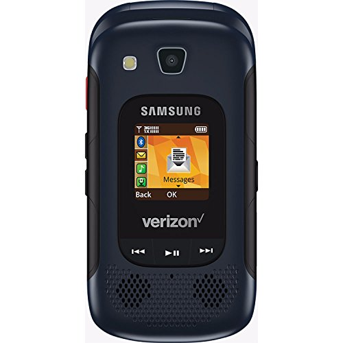 Samsung Convoy 4 B690 Rugged Water-Resistant Verizon Flip Phone w/ 5MP Camera - Blue (Flip Phones Samsung)