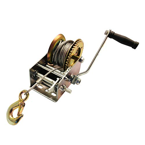 (32' Cable Boat Trailer Winch (3200 Pound Rated))