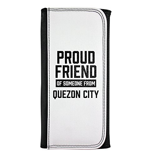 Leatherette wallet with Proud friend of someone from Quezon City
