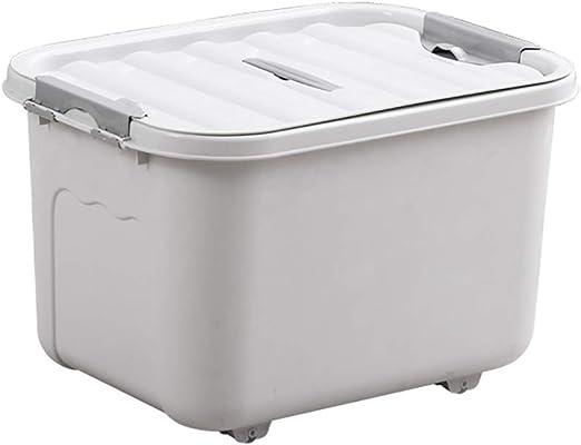 Caja de almacenamiento grande de plástico, moderna, simple, a ...