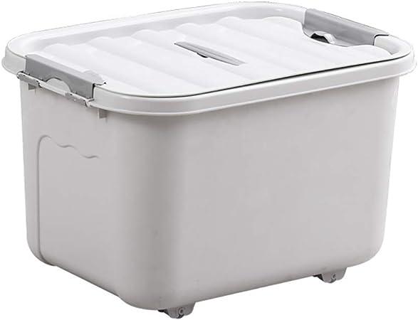Caja de almacenamiento de plástico grande y grande moderna Caja de almacenamiento a prueba de humedad,