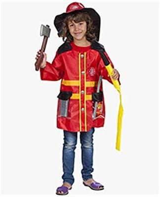 HKTEC - Disfraz de Bombero para niño: Amazon.es: Juguetes y juegos