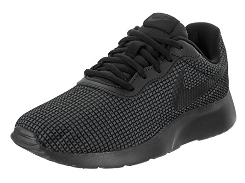 NIKE Womens Tanjun Running Shoe Black/Black-anthracite-white f87im