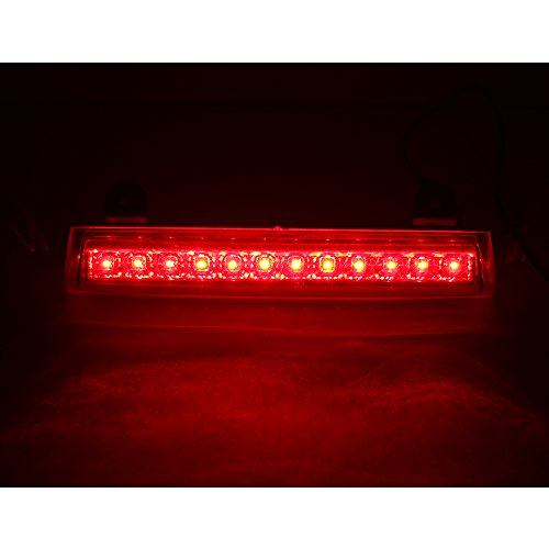 Suburban Third Brake Light (For 2000-2006 GM Chevrolet Tahoe / Suburban / GMC Yukon High Mount LED Rear 3RD Brake/Stop LED Light (Chrome Housing))