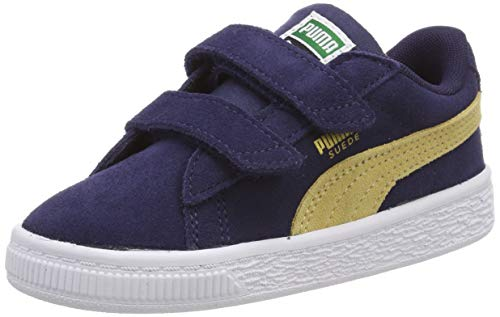 V Puma Azul Zapatillas Suede Inf Taupe peacoat Niños Unisex Classic taos EwrwOqUxS